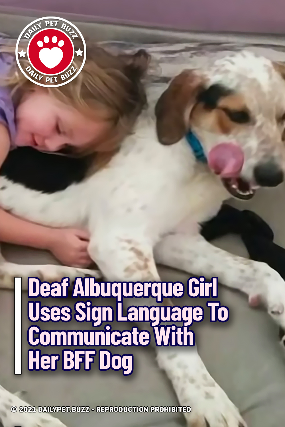 Deaf Albuquerque Girl Uses Sign Language To Communicate With Her BFF Dog