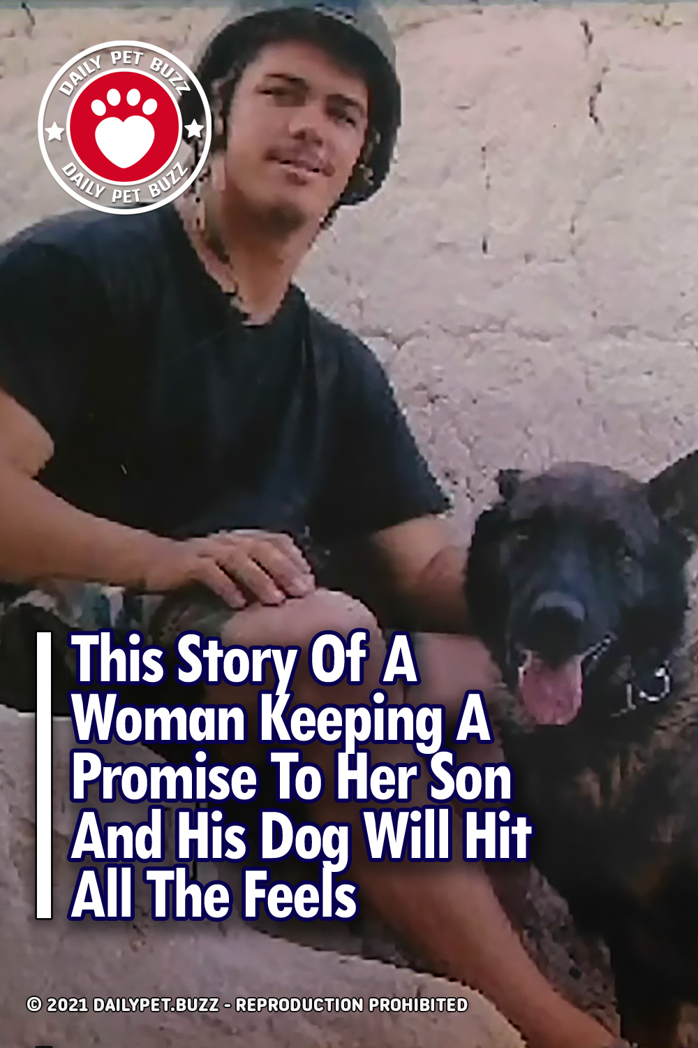This Story Of A Woman Keeping A Promise To Her Son And His Dog Will Hit All The Feels