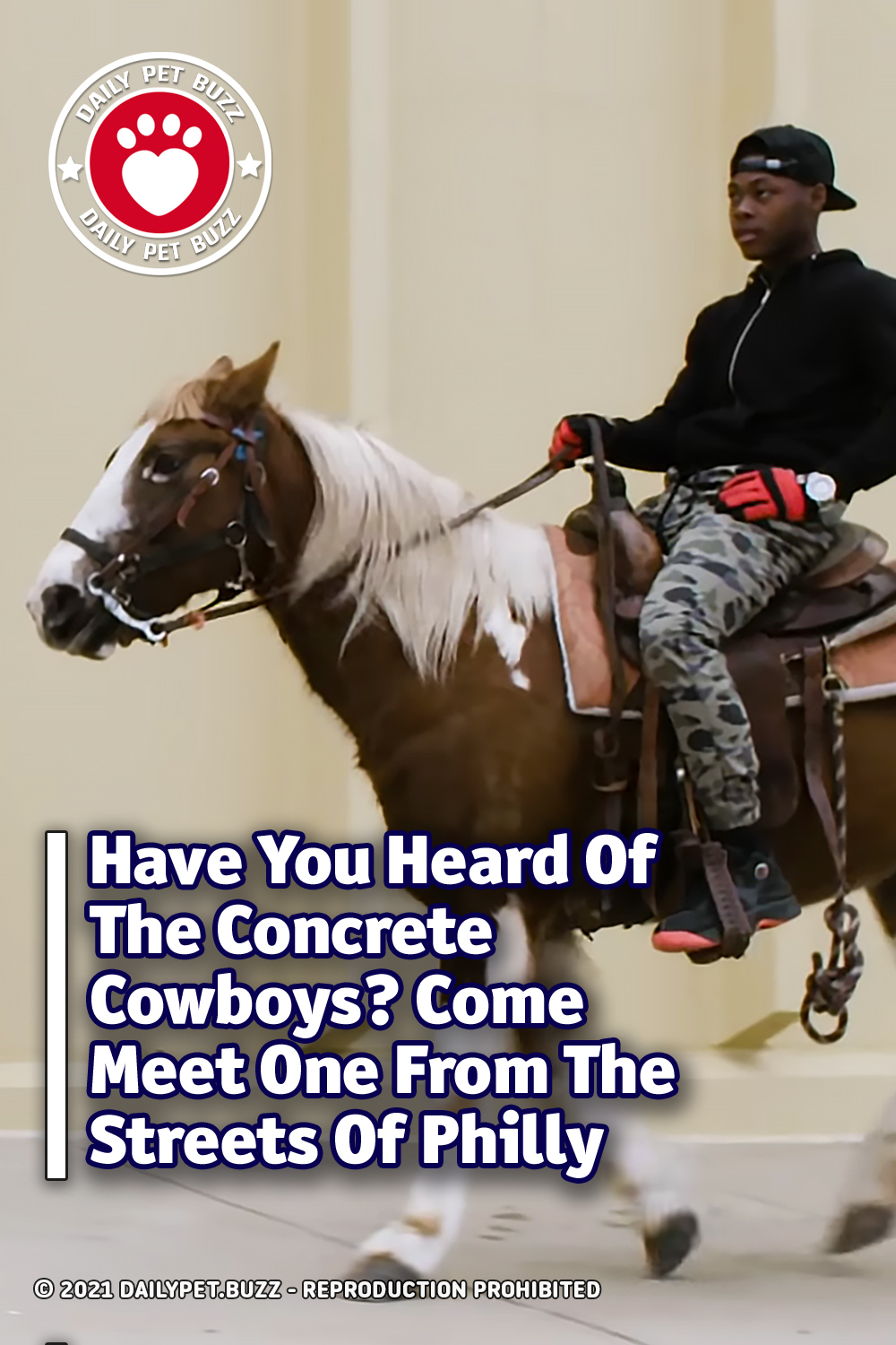Have You Heard Of The Concrete Cowboys? Come Meet One From The Streets Of Philly
