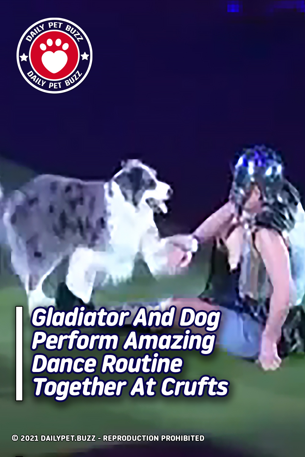 Gladiator And Dog Perform Amazing Dance Routine Together At Crufts