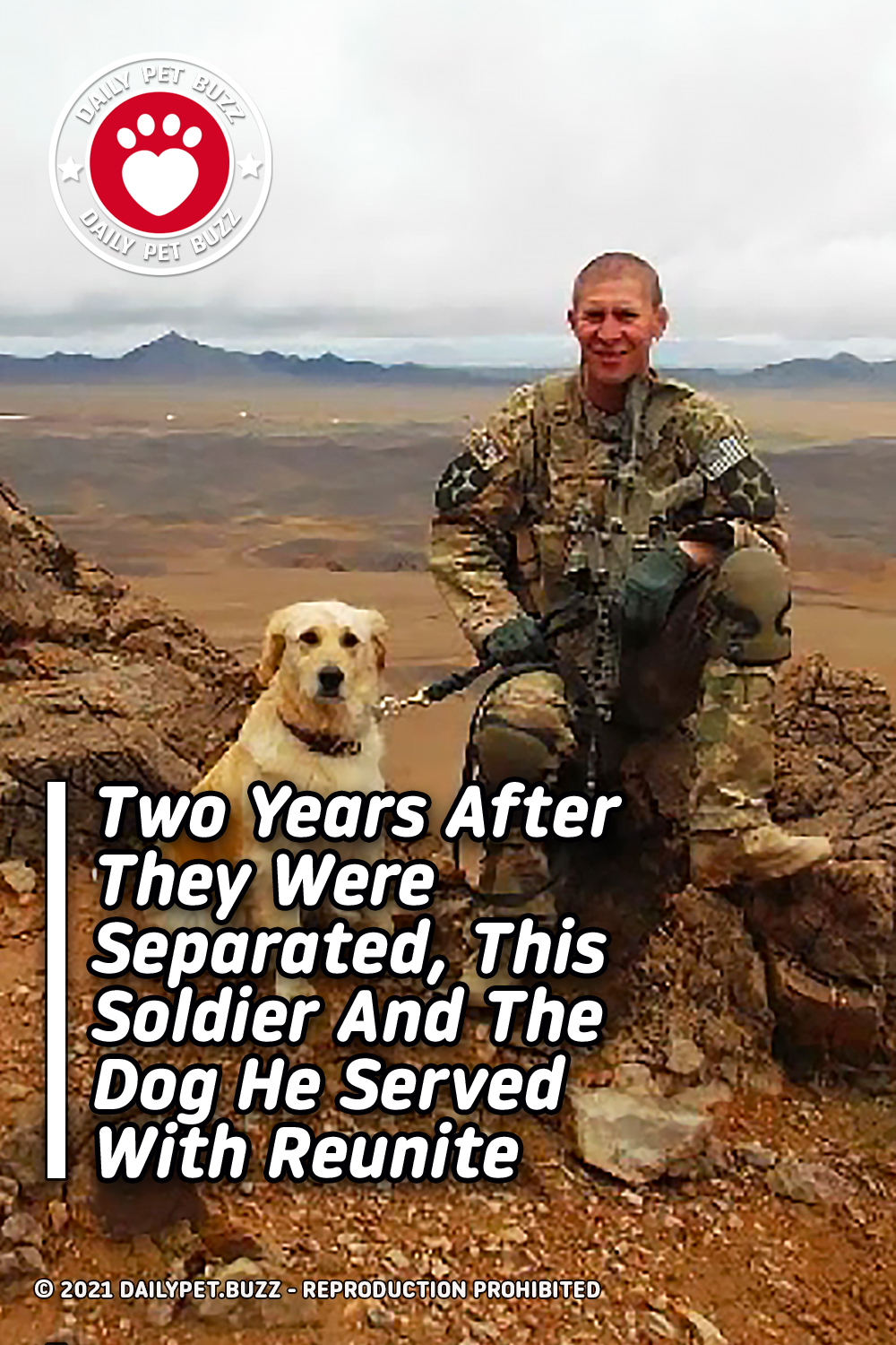 Two Years After They Were Separated, This Soldier And The Dog He Served With Reunite