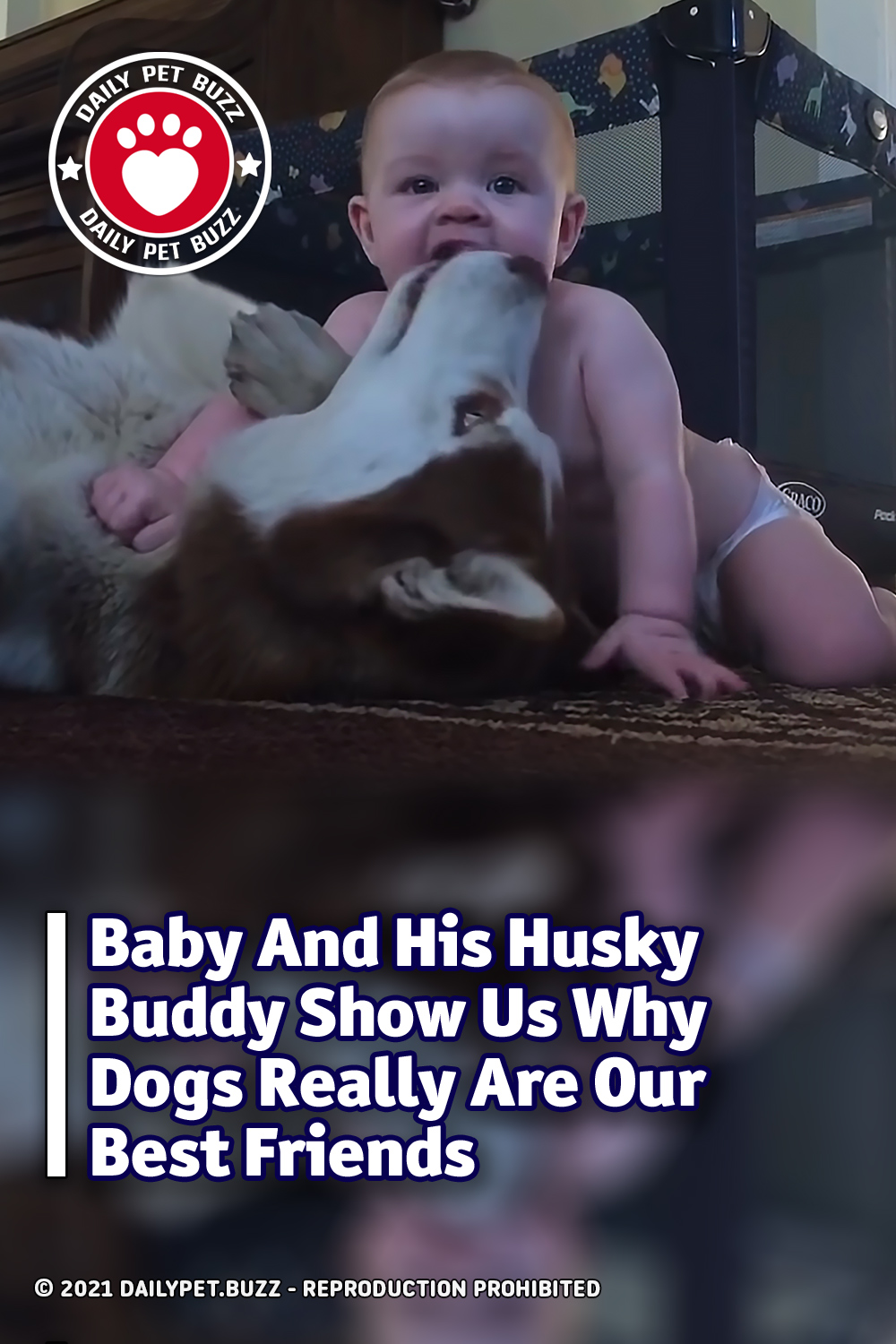 Baby And His Husky Buddy Show Us Why Dogs Really Are Our Best Friends