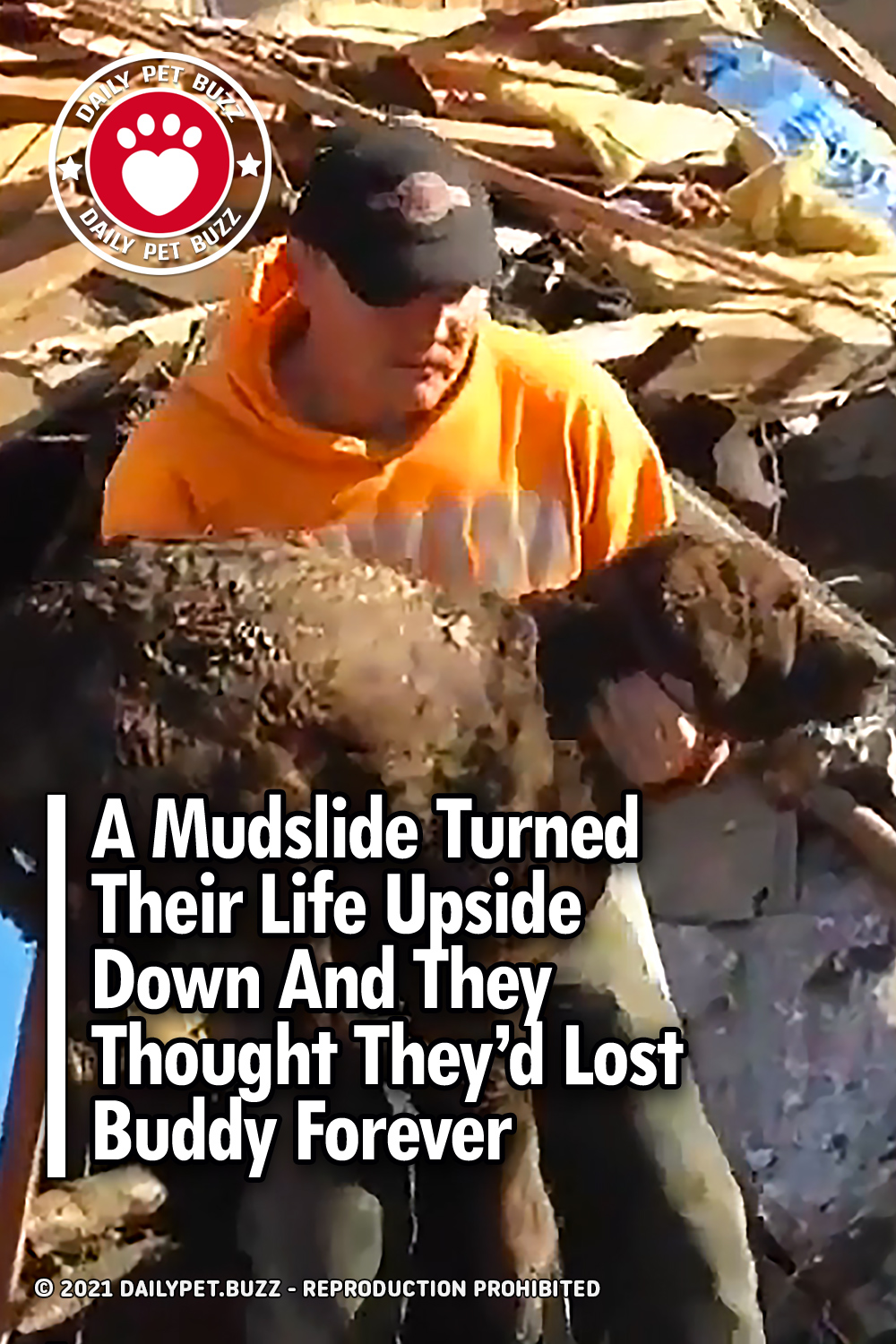 A Mudslide Turned Their Life Upside Down And They Thought They\'d Lost Buddy Forever