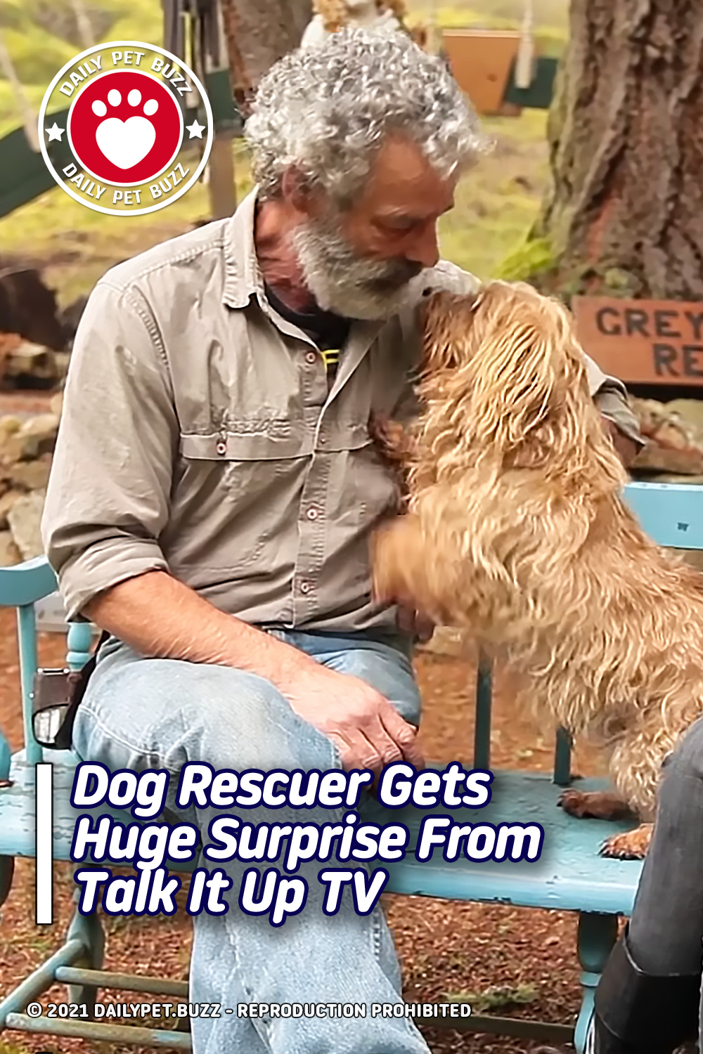 Dog Rescuer Gets Huge Surprise From Talk It Up TV