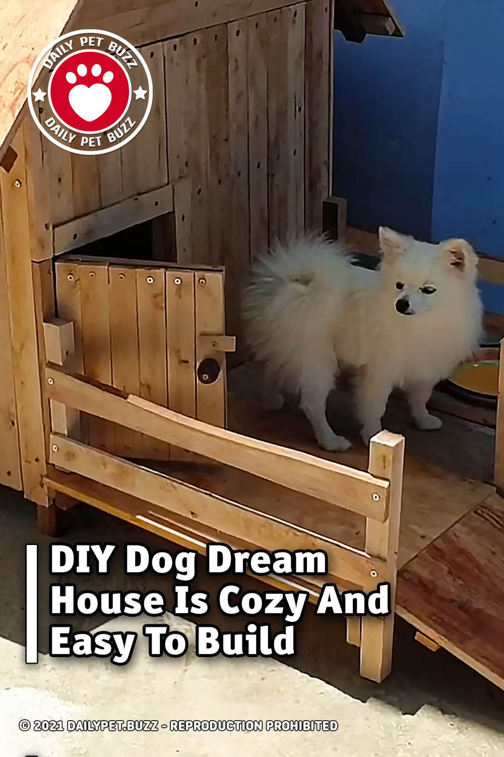 DIY Dog Dream House Is Cozy And Easy To Build