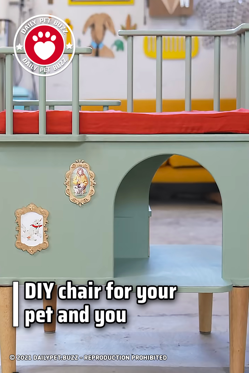 DIY chair for your pet and you