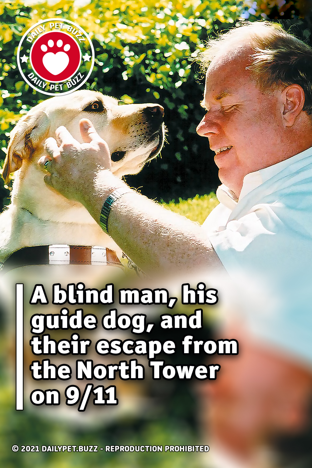 A blind man, his guide dog, and their escape from the North Tower on 9/11