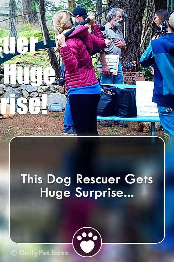 This Dog Rescuer Gets Huge Surprise...