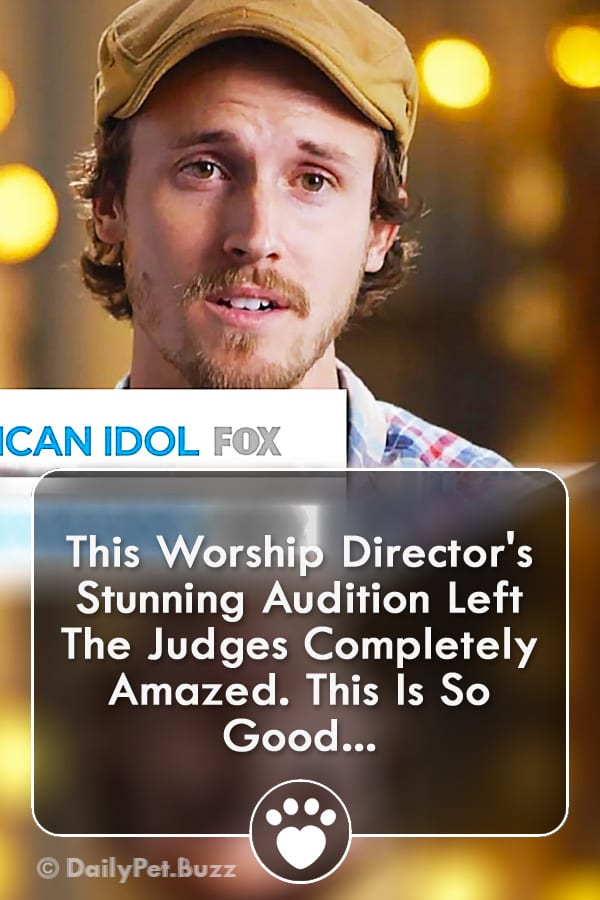 This Worship Director\'s Stunning Audition Left The Judges Completely Amazed. This Is So Good...