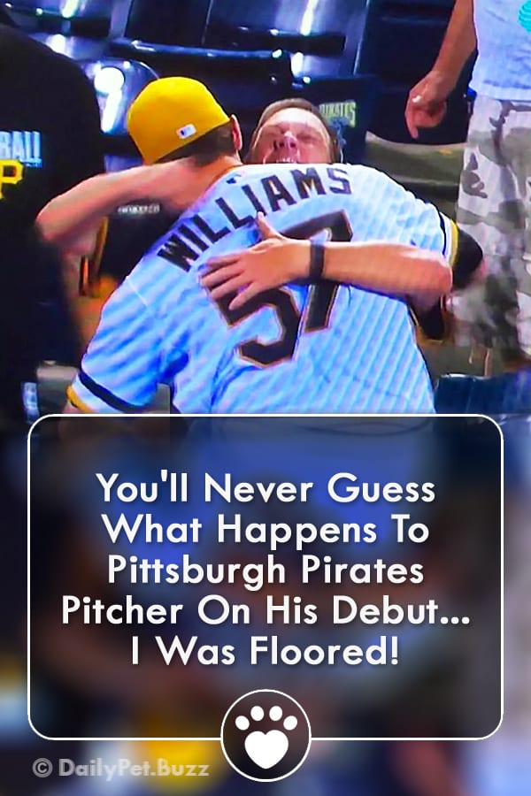 You\'ll Never Guess What Happens To Pittsburgh Pirates Pitcher On His Debut... I Was Floored!
