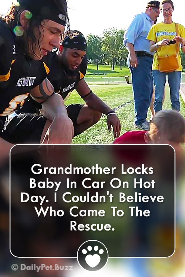 Grandmother Locks Baby In Car On Hot Day. I Couldn\'t Believe Who Came To The Rescue.