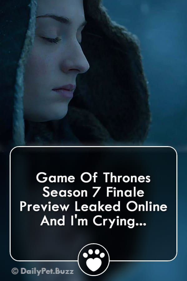 Game Of Thrones Season 7 Finale Preview Leaked Online And I\'m Crying...